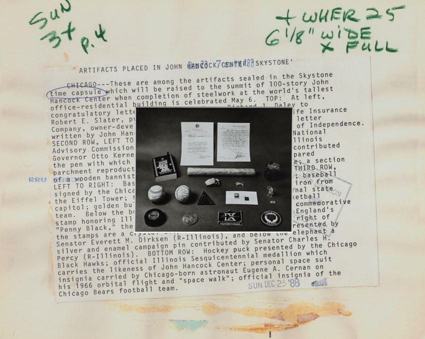 Christian Mayer,  Putting in time (12/25/88),  2015. Originales Pressefoto aus Zeitungsarchiv, UV Druck auf Passepartout Acrylglasrahmen, 53 x 66 cm. Courtesy: Charim Galerie Wien.