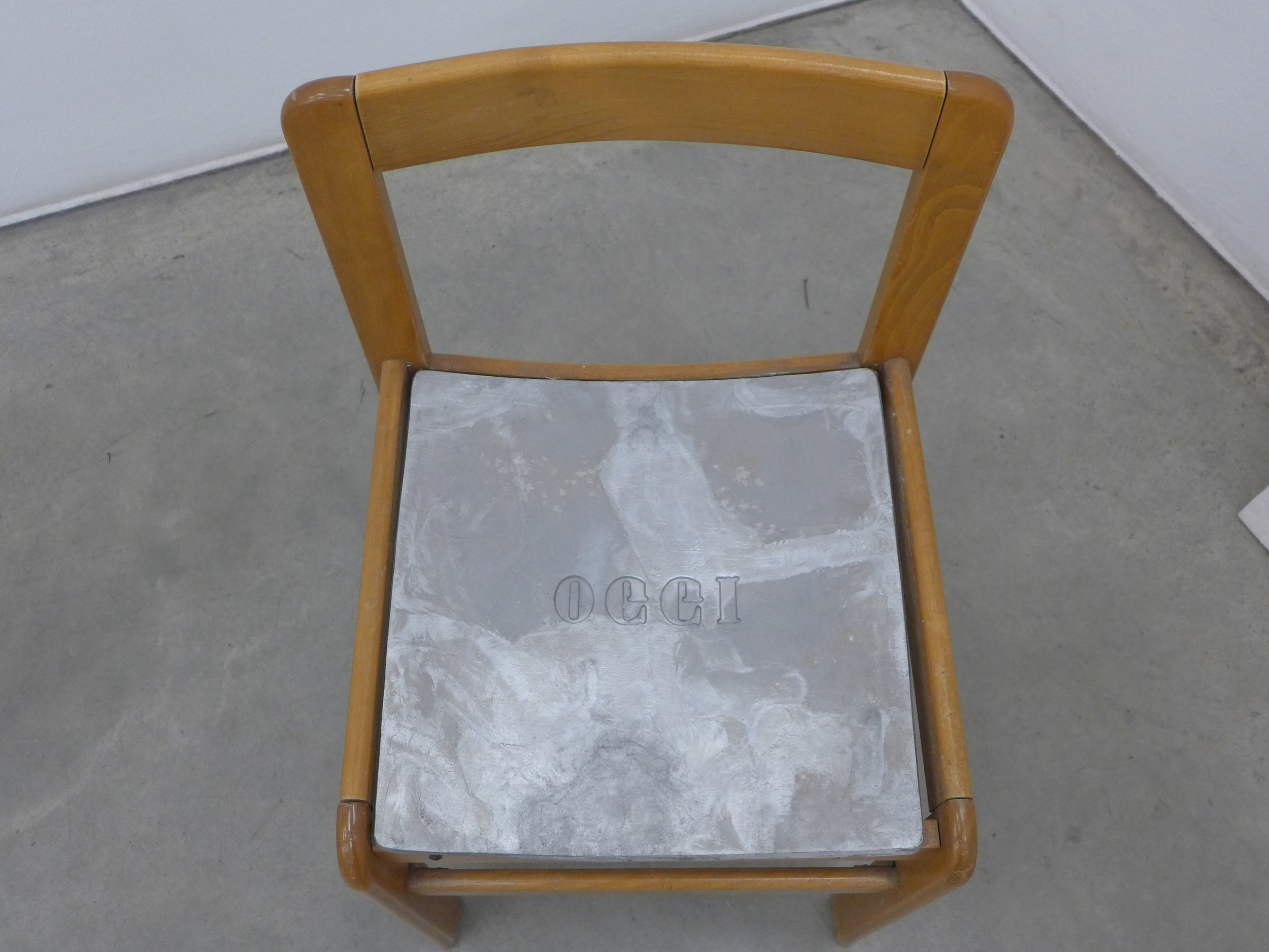 HH LIM, Detail Lao Tzu said, 2016, Mixed Media, 250 x 250 cm / 80 x 47 cm / ø 42 cm, Courtesy: The Artist and Christine König Galerie