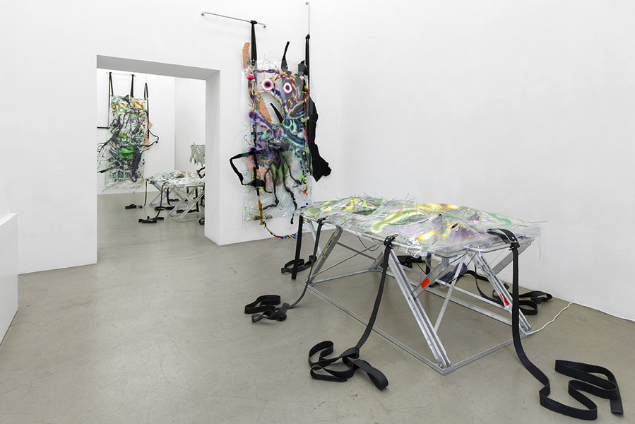 Exhibition View, Galerie Meyer Kainer, curated by_N.O.Madski, 2015, Courtesy: Galerie Meyer Kainer