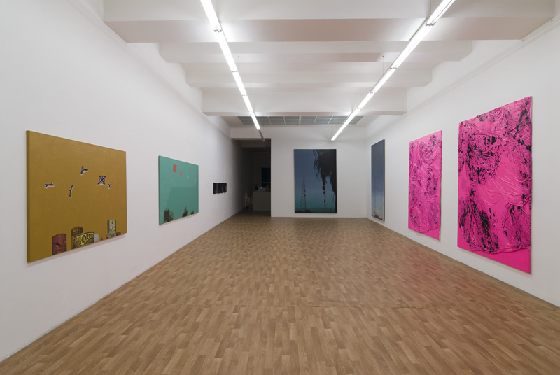 Exhibition View, Kerstin Engholm Galerie, Painting beyond Paint, curated by_John Peter Nilsson, 2013, Photo: Kerstin Engholm Galerie