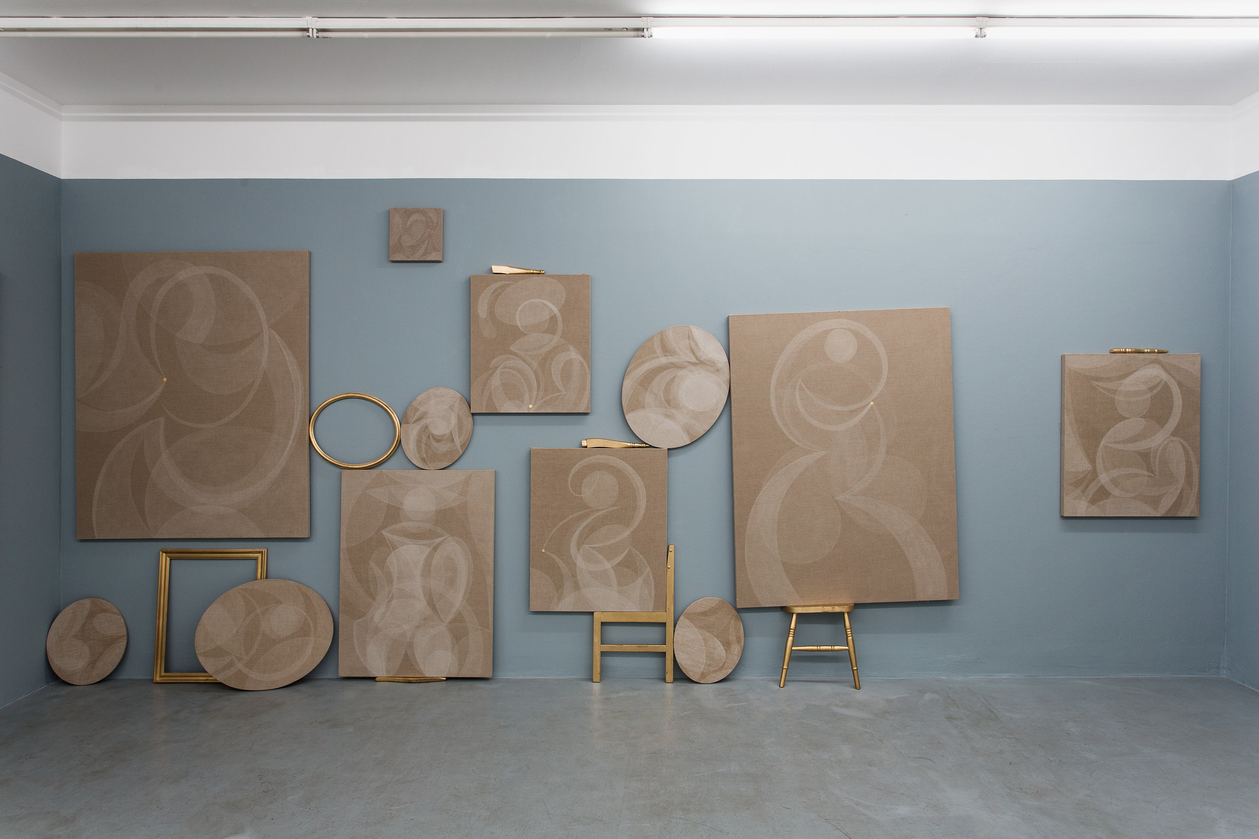 Exhibition View, Galerie Knoll, curated by_Lina Dzuverovic, 2013, Photo: Galerie Knoll