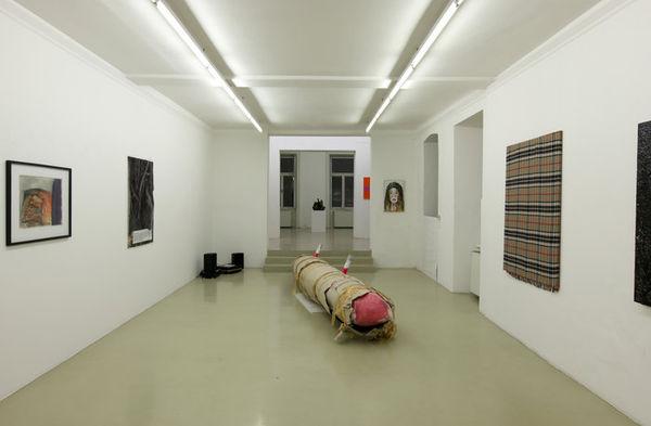 Exhibition View, Krinzinger Projekte, Cover-Up, curated by_Antony Hudek, 2013, Photo: Krinzinger Projekte