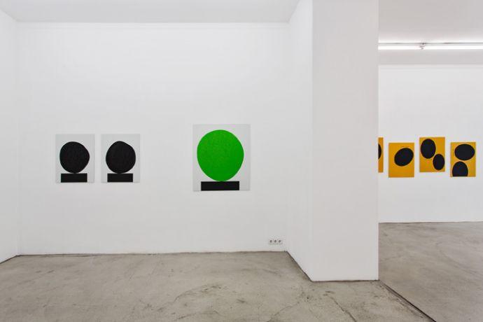 Exhibition View, Gabriele Senn Galerie, Why Paint, curated by_Antonia Lotz, 2013, Photo: Gabriele Senn Galerie
