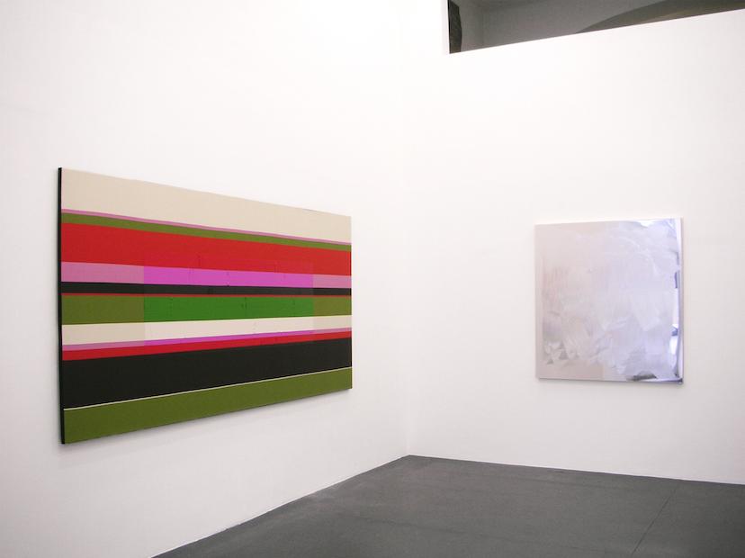 Exhibition View, Galerie Steinek, Die Malerei nach Bertrand Lavier, curated by_Caroline Smulders, 2013, Photo: Galerie Steinek