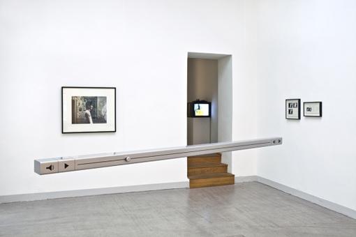 Exhibition View, Prozesse, curated by_Alexander Streitberger, 2012, Raum mit Licht, Photo: Stephan Hilge