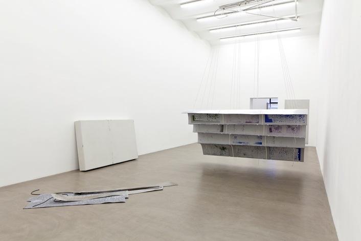 Exhibition View, Galerie Meyer Kainer, Anita Leisz   Nora Schultz, curated by_Will Benedict, 2012, Photo: Galerie Meyer Kainer
