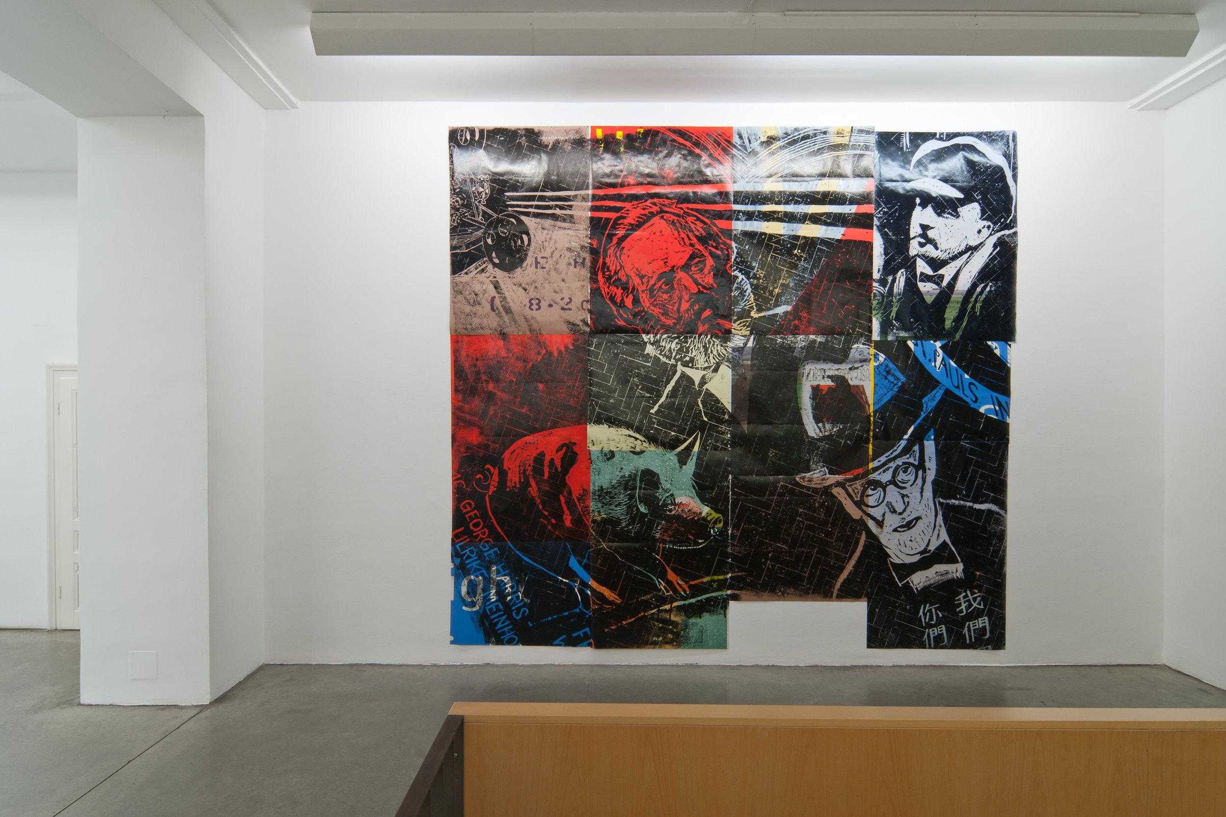 Exhibition View, Christine König Galerie, Thomas Kilpper | Jimmie Durham, curated by_Marius Babias, 2012, Photo: Christine König Galerie