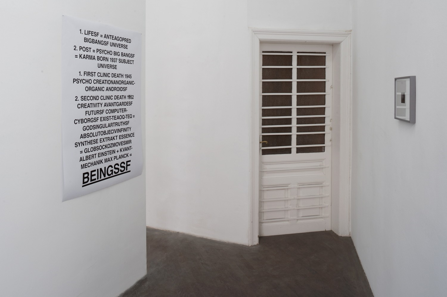 Exhibition View, curated by Severin Dünser & Christian Kobald, 2011, Courtesy: Galerie Emanuel Layr