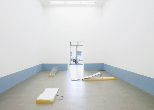 Exhibition View, Galerie Meyer Kainer, casualties, curated by_Nicolaus Schafhausen, 2011, Photo: Galerie Meyer Kainer