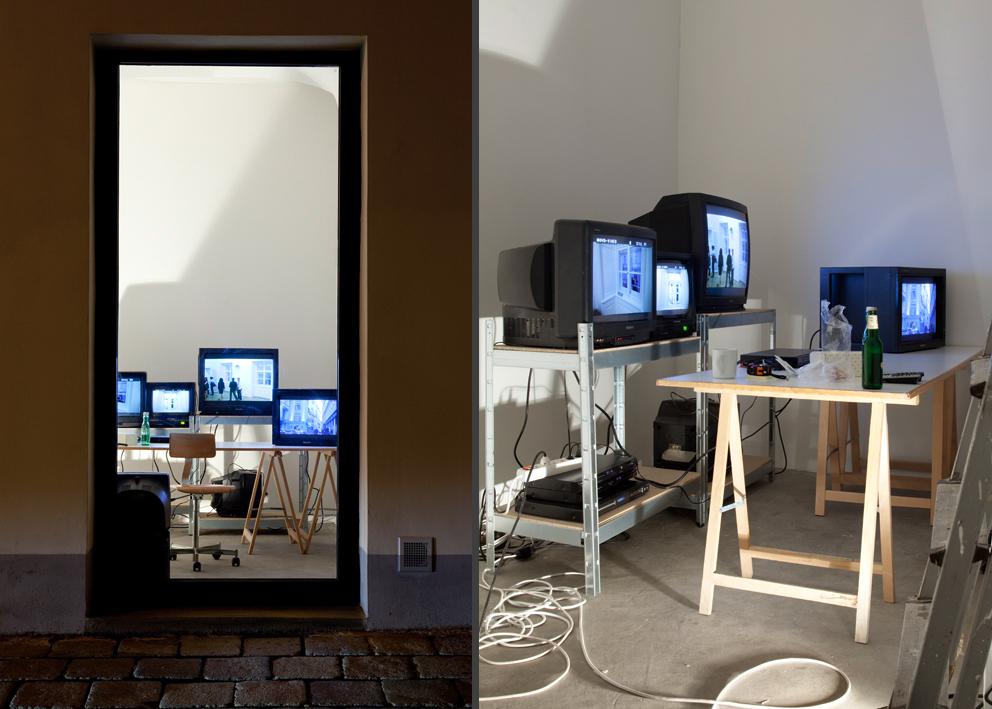 Exhibition View, Galerie nächst St. Stephan, Ständige Rezeption, curated by_Clemens von Wedemeyer, 2010, Photo: Markus Wörgötter