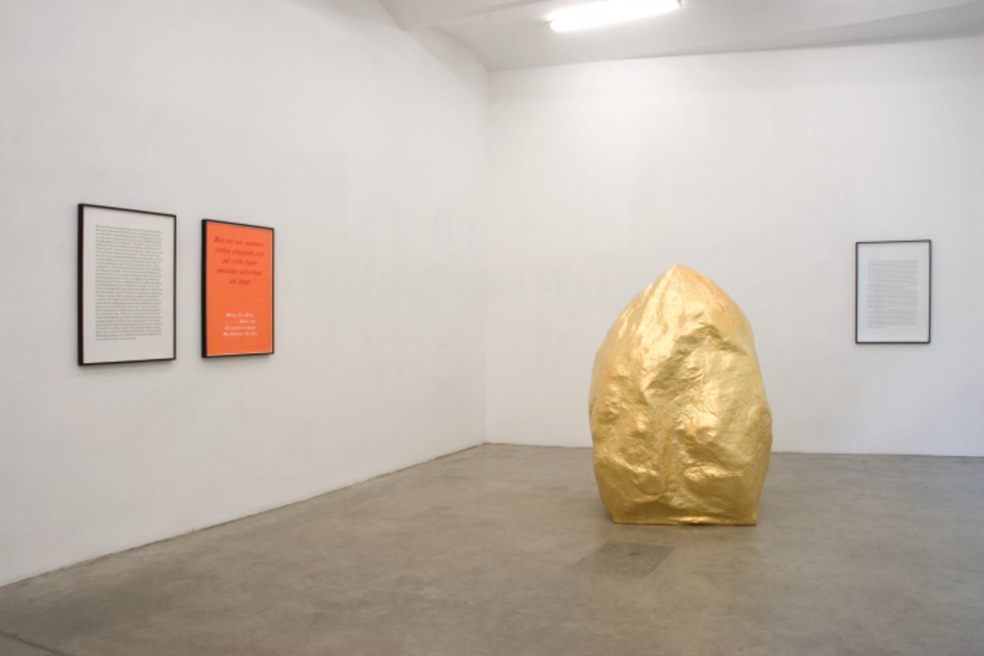 Exhibition View, Christine König Galerie, curated by_Gianni Jetzer, 2009