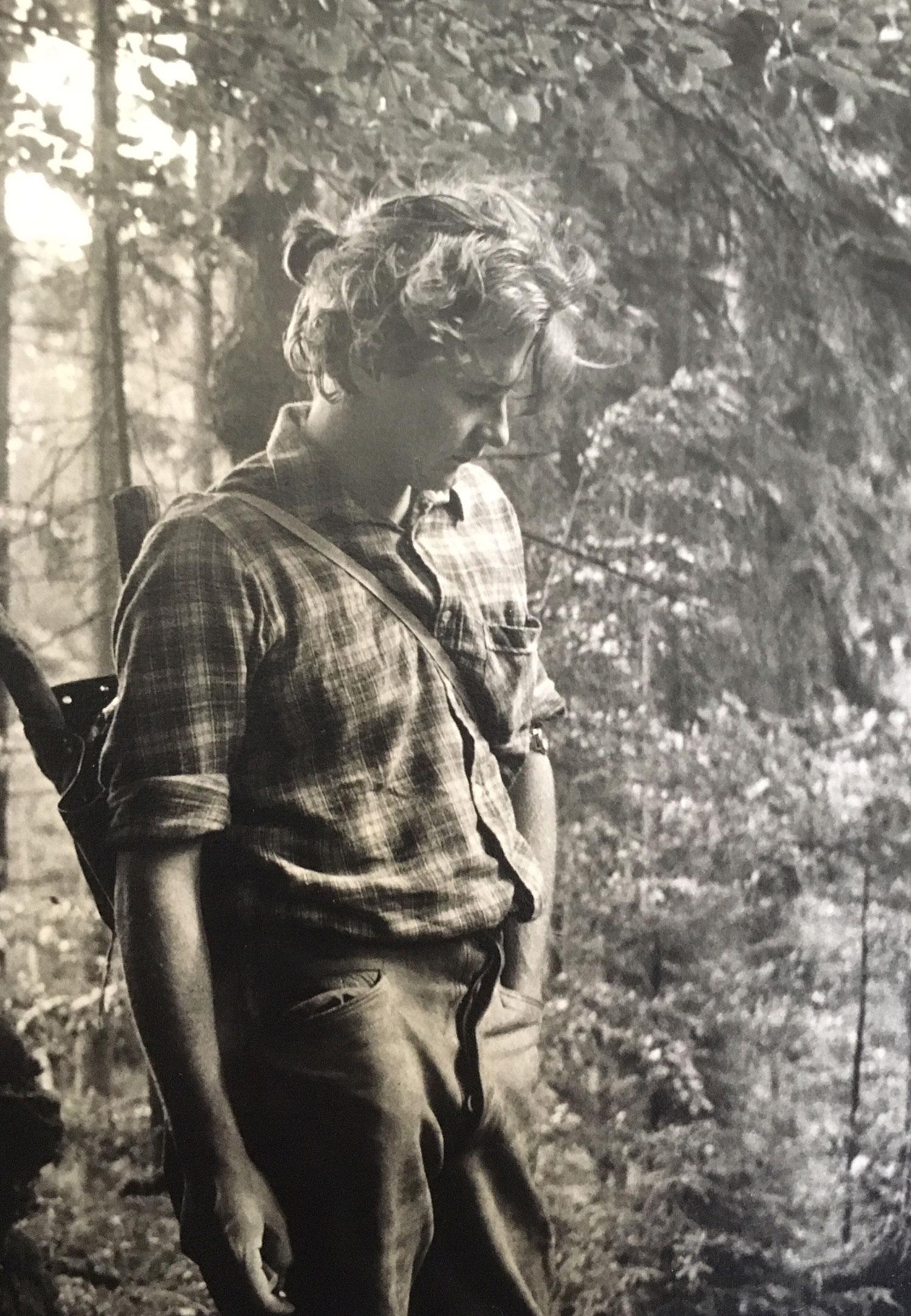 GUNTER DAMISCH  1980er-Jahre  Photo: Rudi Molacek