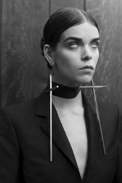 Untitled (Portrait of a Lady) 2015  Pamela Berkovic  Black-and-white photography, 76.2 x 50.8 cm   © Pamela Berkovic