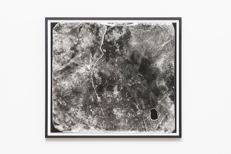 one month on skin 2014  Olena Newkryta  Barytpaper, black-white, 50 x 57 cm Courtesy of Olena Newkryta and Raum mit Licht, Vienna   Photo: Olena Newkryta, 2016