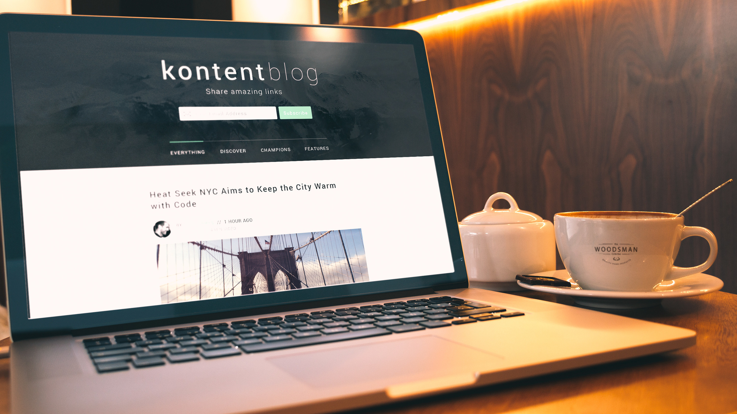 Kontent Blog