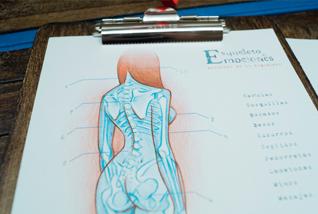 Esqueletos de las emociones /  Ilustrado