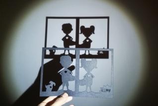 Super Sombra /  Arte en papel