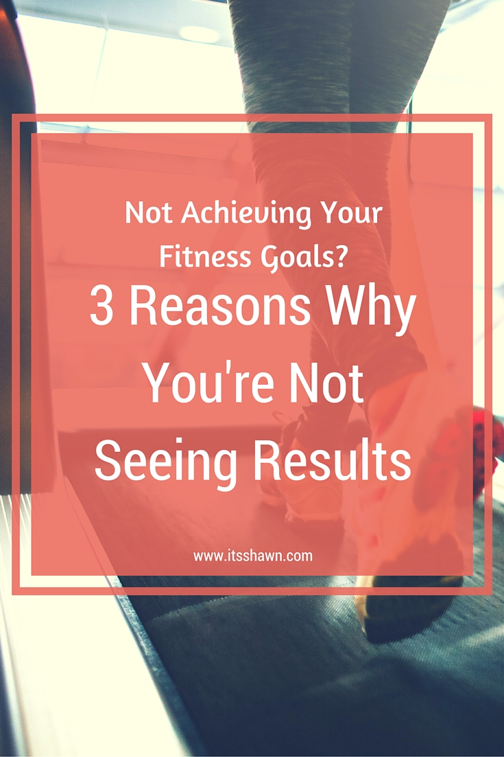 3 Reasons You're Not Achieving Your Fitness Goals