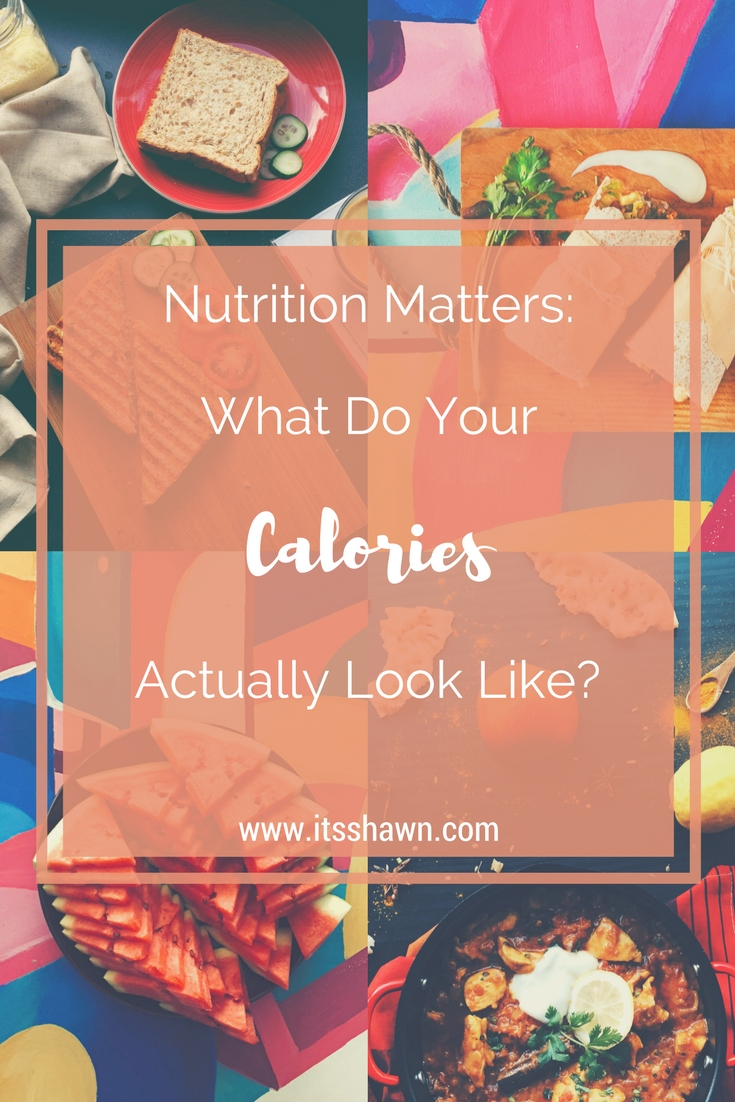 What Do Your Calories Actually Look Like