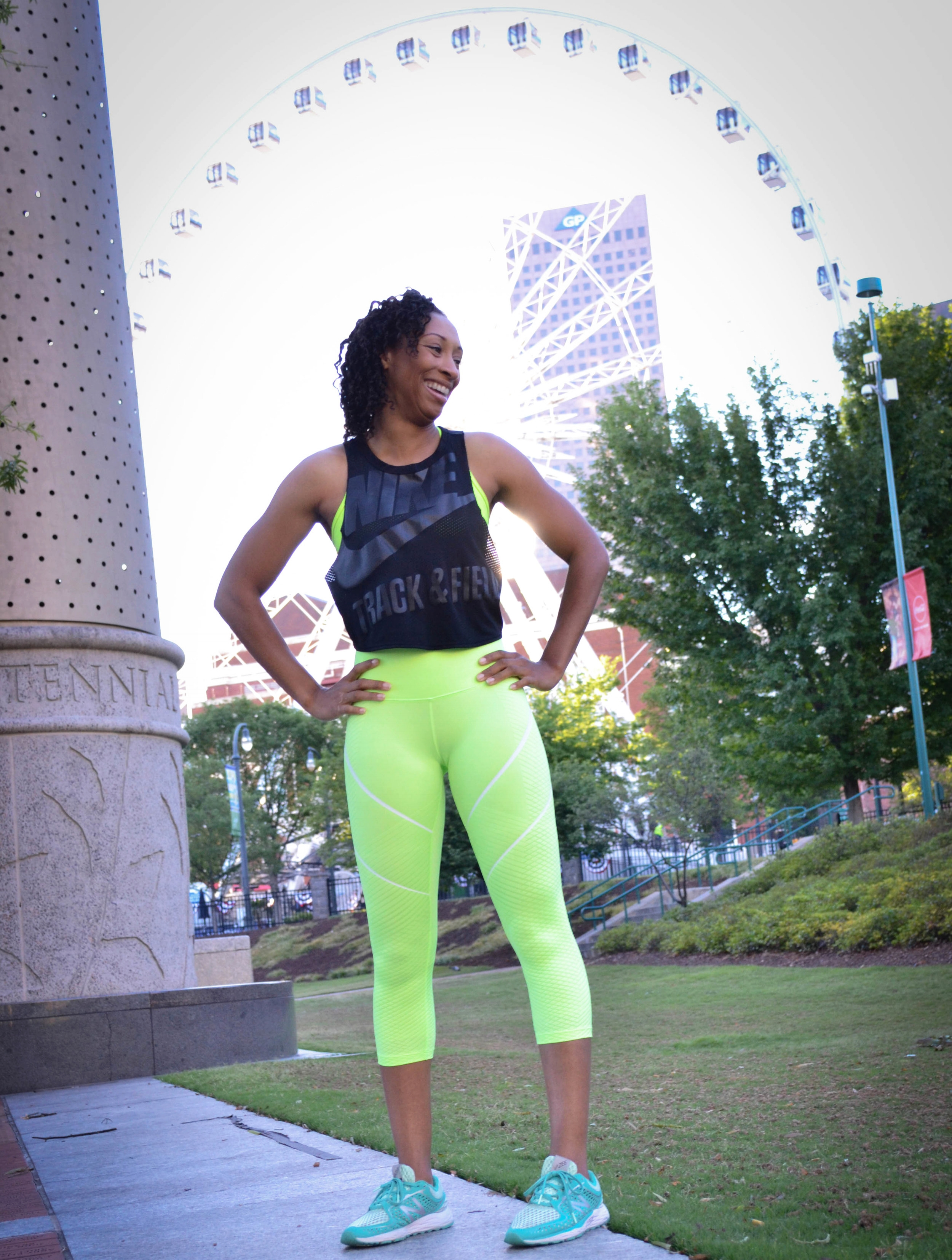 Hey, I'm Lashawn (or Shawn, or LGee, for short.) - I am a Certified Fitness Coach, former (forever) track and field athlete (Go Heels!), track and field coach, speaker, announcer, and Hall of Famer. I love the feeling of accomplishing a great sweat session (hello, endorphins!), good FLAVORFUL food, making people laugh (and cupcakes--and wine. No, I will not lie, LOL). After injuries and surgeries, I decided to hang up my spikes and coach student-athletes and overwhelmed women to hone in on their own