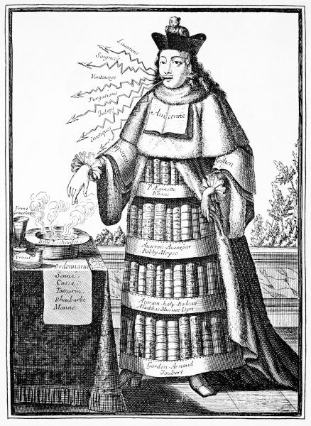 """Nicolas de l'Armessin II, Physician from """"Costumes Grotesques"""" (1695)"""