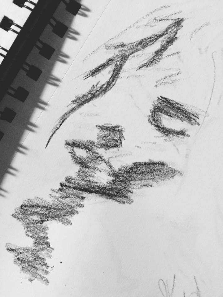 Study of a Lee Woodman sketch.