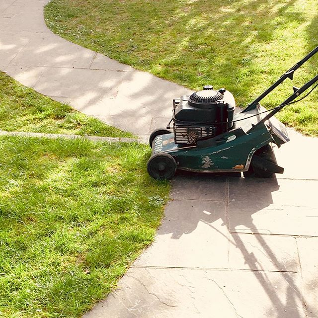 Ready  #lawnmowing #sunnyday #home #spring #photography #photographer