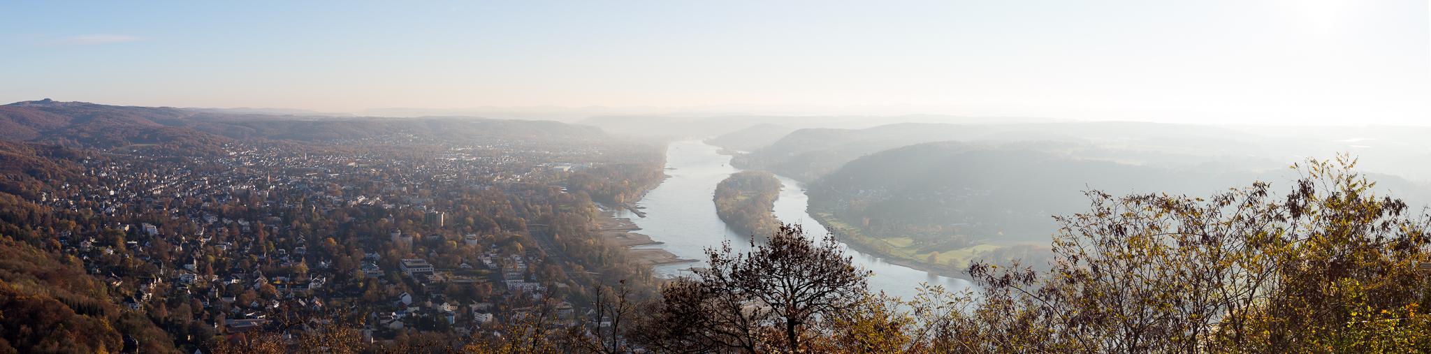 Drachenfels am Rhein, Deutschland