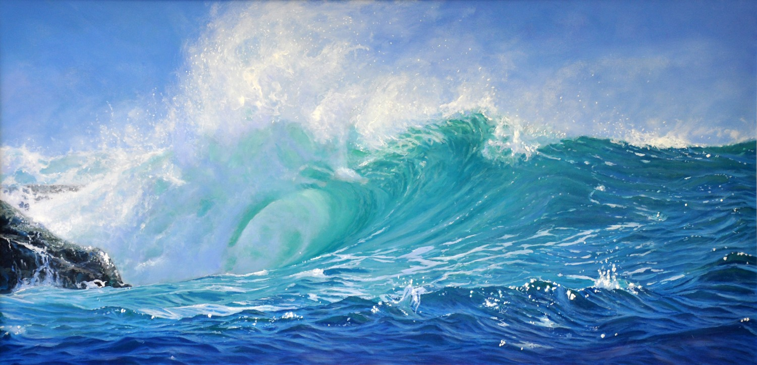 Symphony in Blue - Limited Edition Print