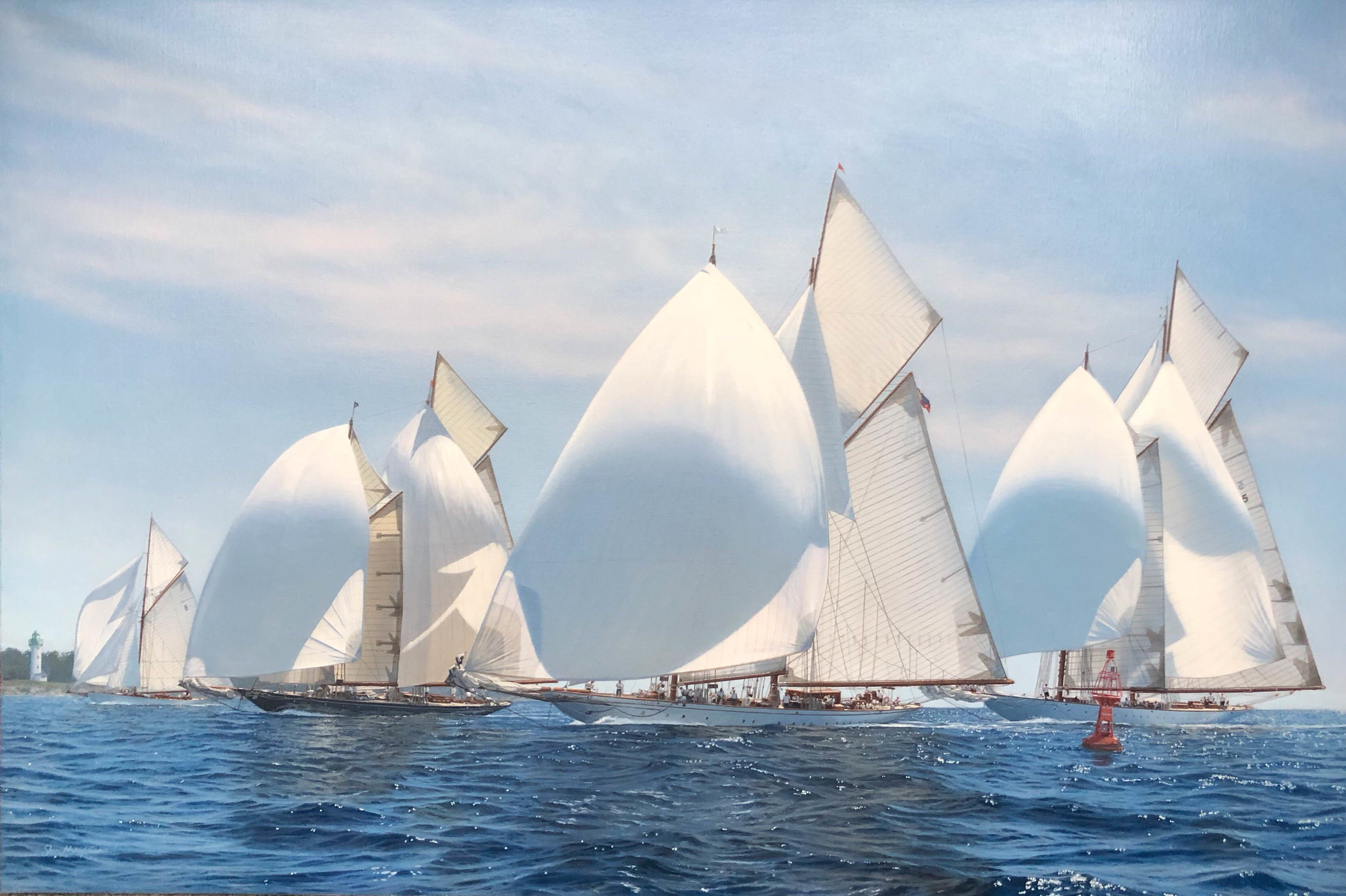 The schooner Fleet