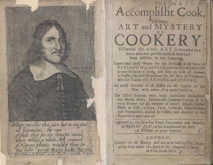 The Accomplisht Cook   - Frontispiece & Title Page