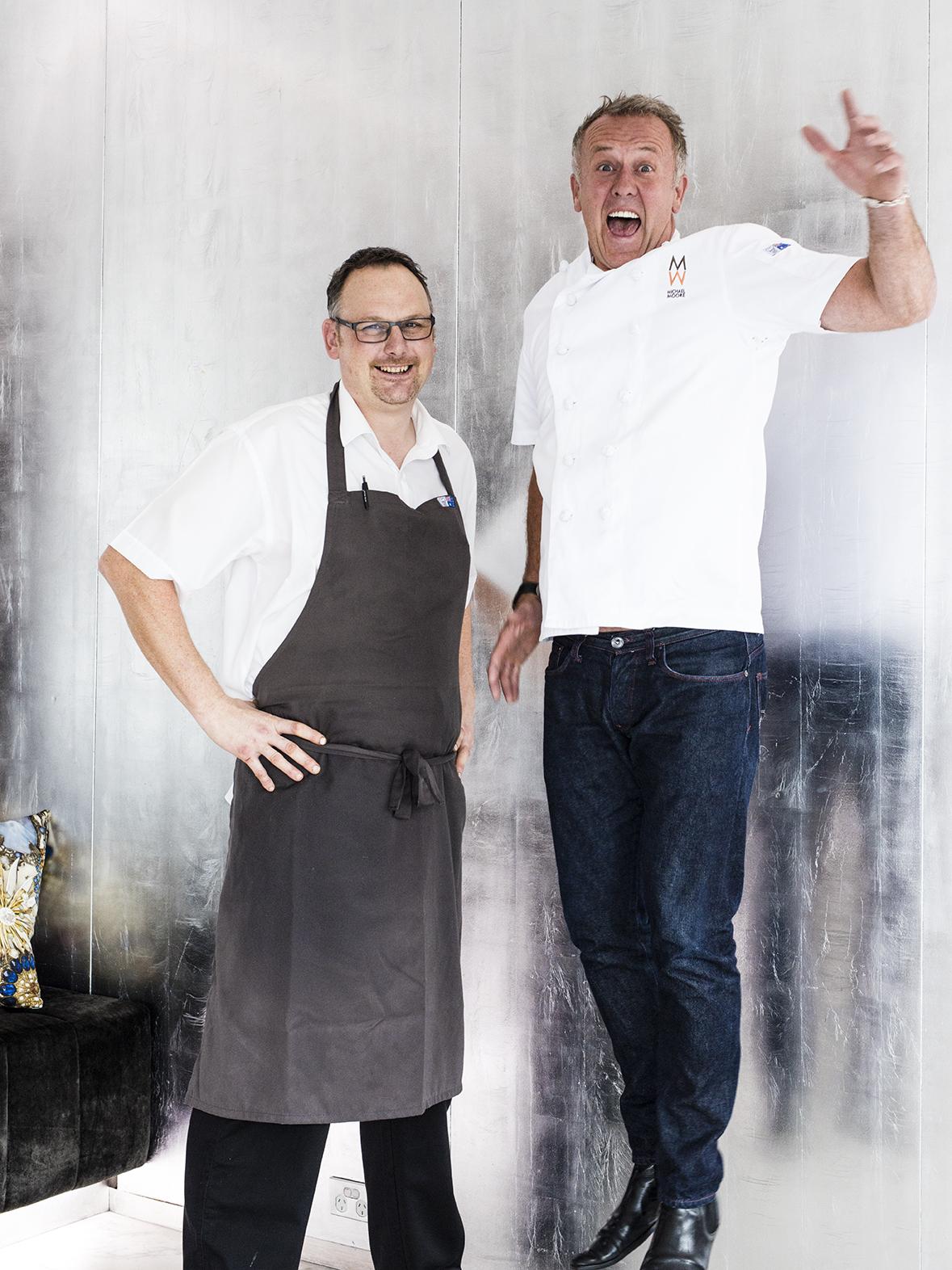 Exec. Chef Darren Templeman & Director of O Bar & Dining Michael Moore