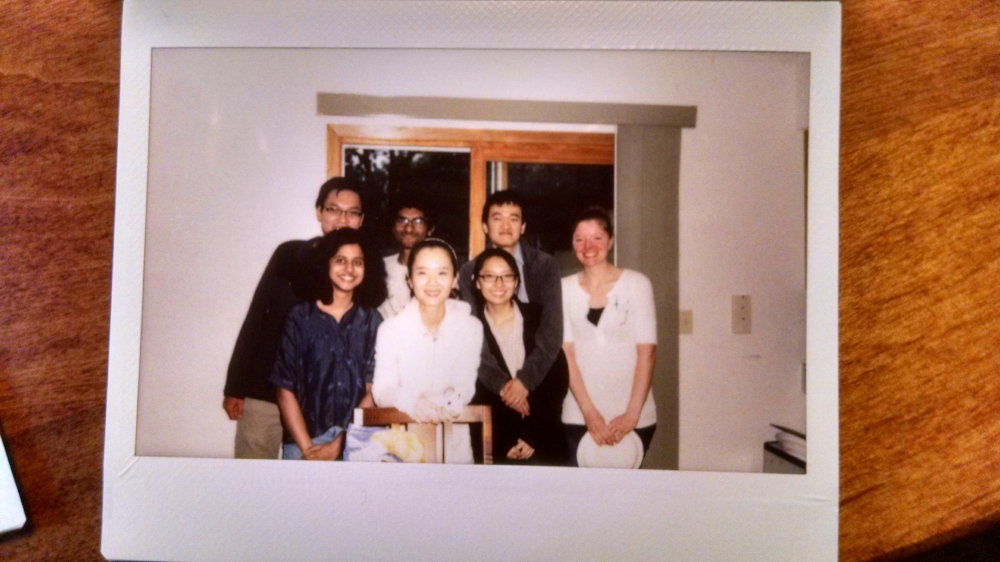 Sashital lab grad students