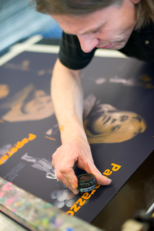 Lorenz Boegli Siebdruck Kunst