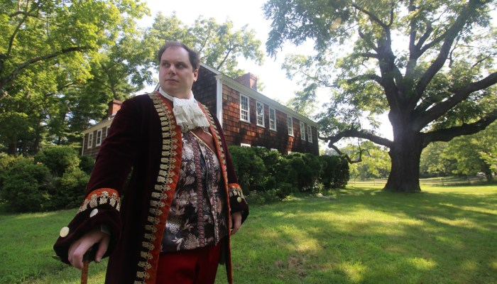 Join us for Character Drawing withBig Bill the Tory - Saturday, September 21, 3 - 5 pmSherwood-Jayne House, Setauket, NY