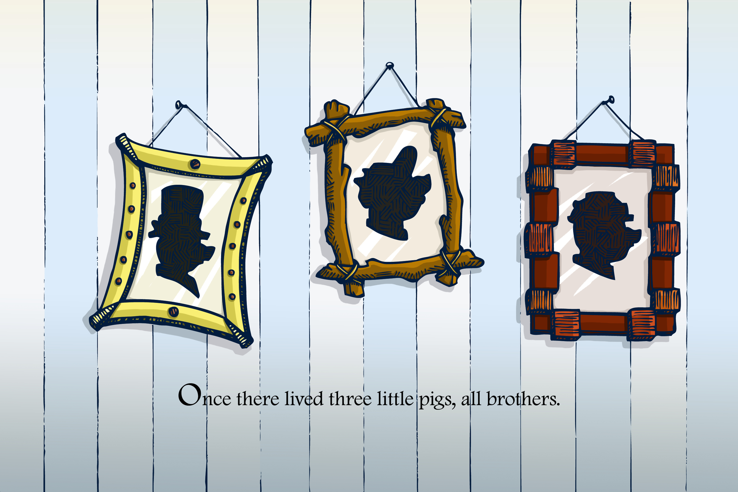 3 Pigs first page