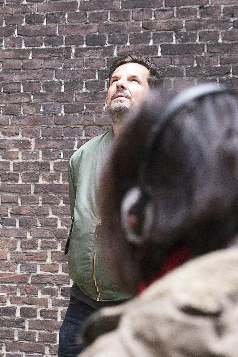 Robin Butter Dag van de Haagse Geschiedenis 2017 Museum Gevangenenpoort portret bezoeker