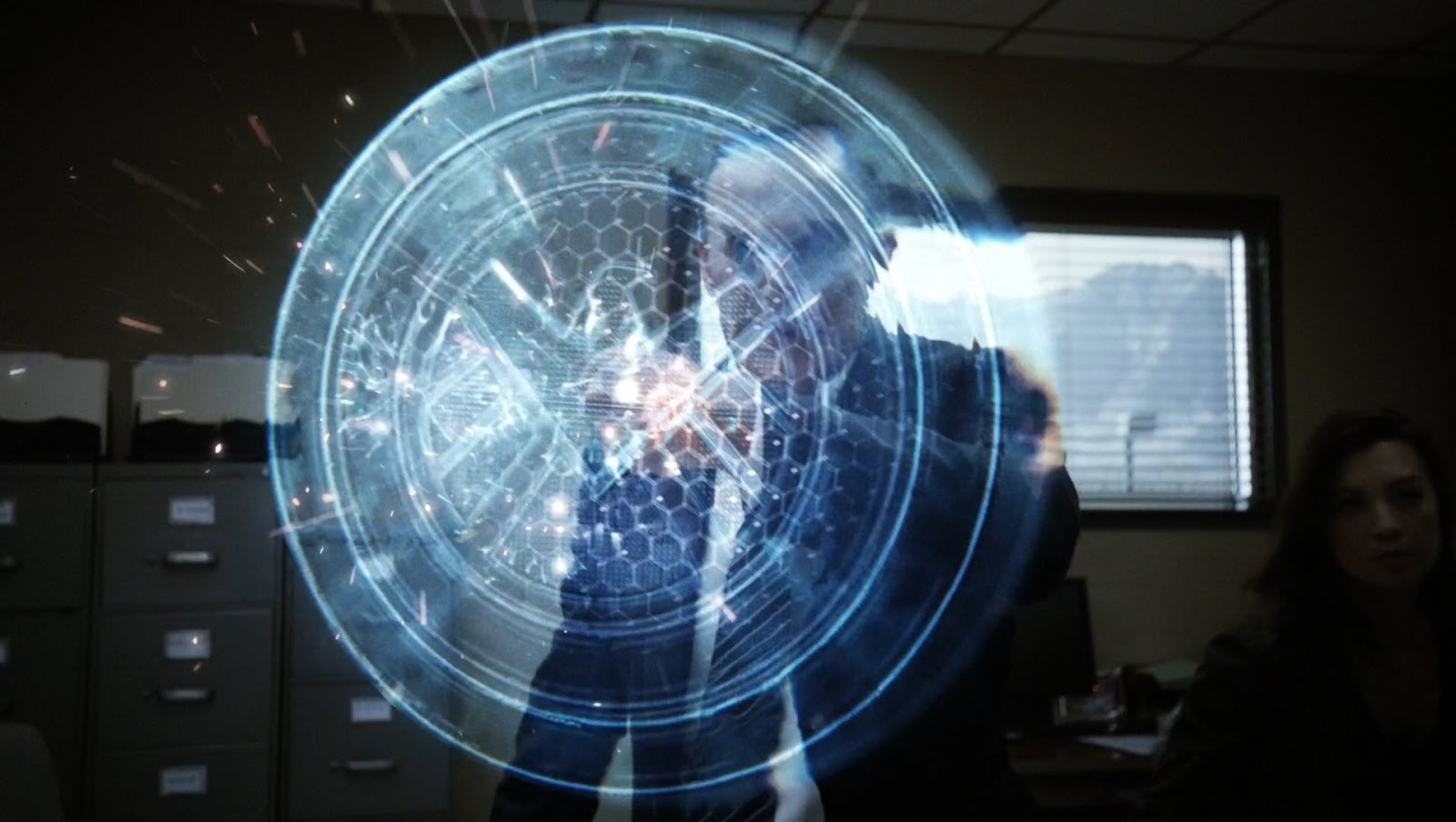 So yeah, spoiler alert. Coulson has a robot hand and it has all sorts of awesome shit. If you aren't watching Agents of Shield... check it out.