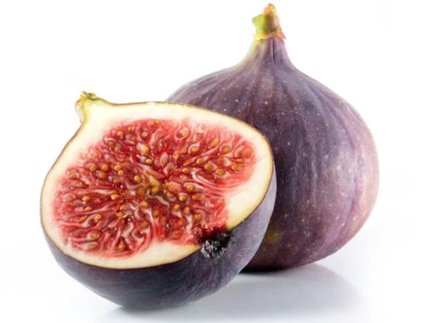 Figs - Boost your pheromone production making you attractive to the opposite sex. A fig, when cut open, looks like a curvy female body.