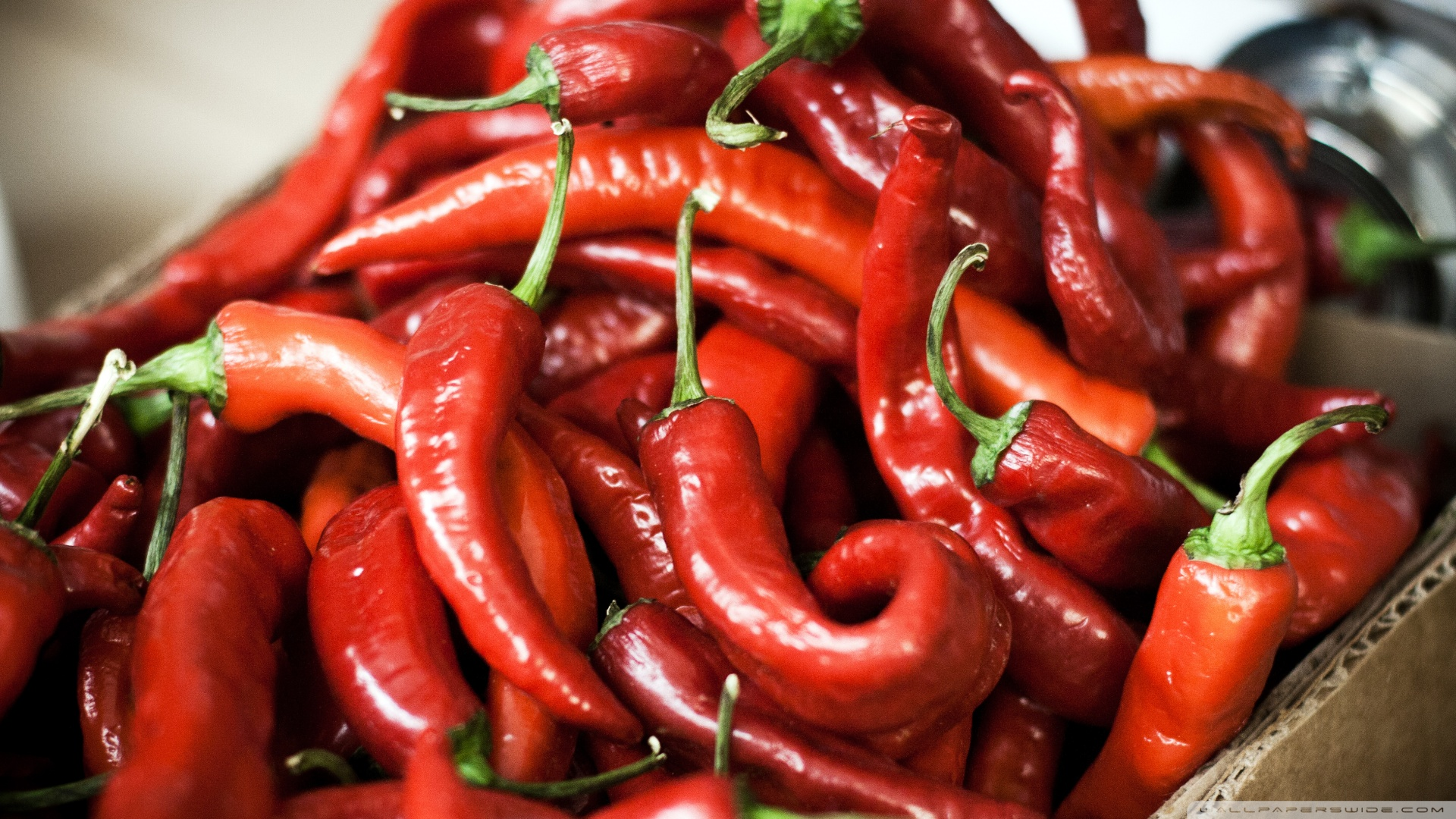 Hot Peppers - Increases your metabolism and heart rate, stimulating endorphins and blood flow. (WARNING: Don't handle pepper and private parts!)