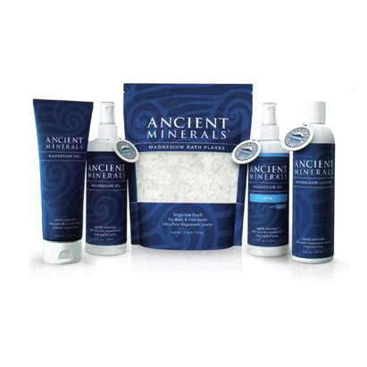 Ancient Minerals Topical Magnesium - Bath flakes are great for a before-bed detox bath to aid in sleep and relaxation. Lotion works well on cramped calves or feet.
