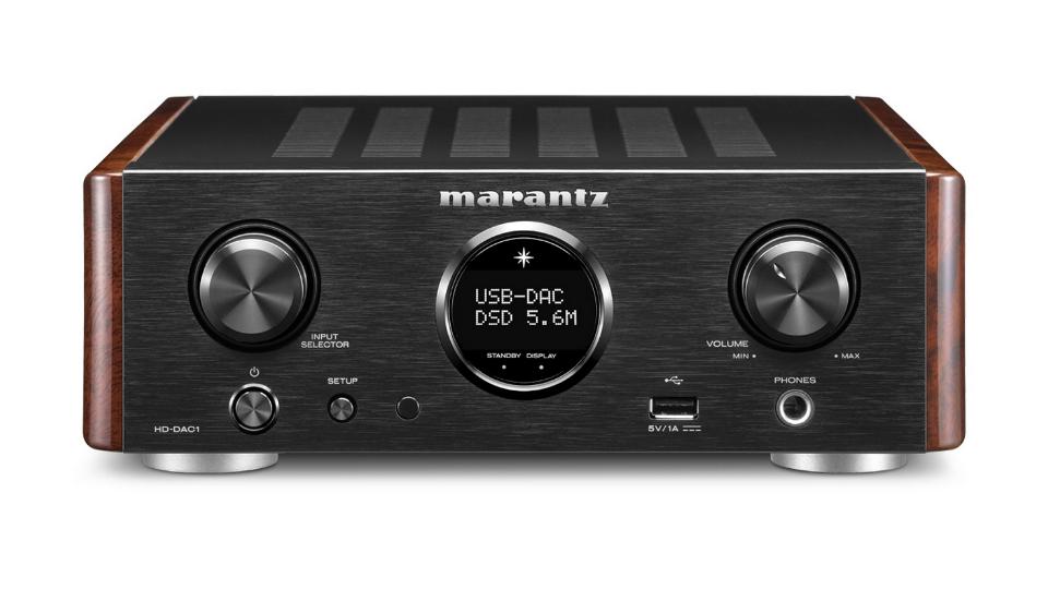 MarantzHD-DAC1 - Frente.