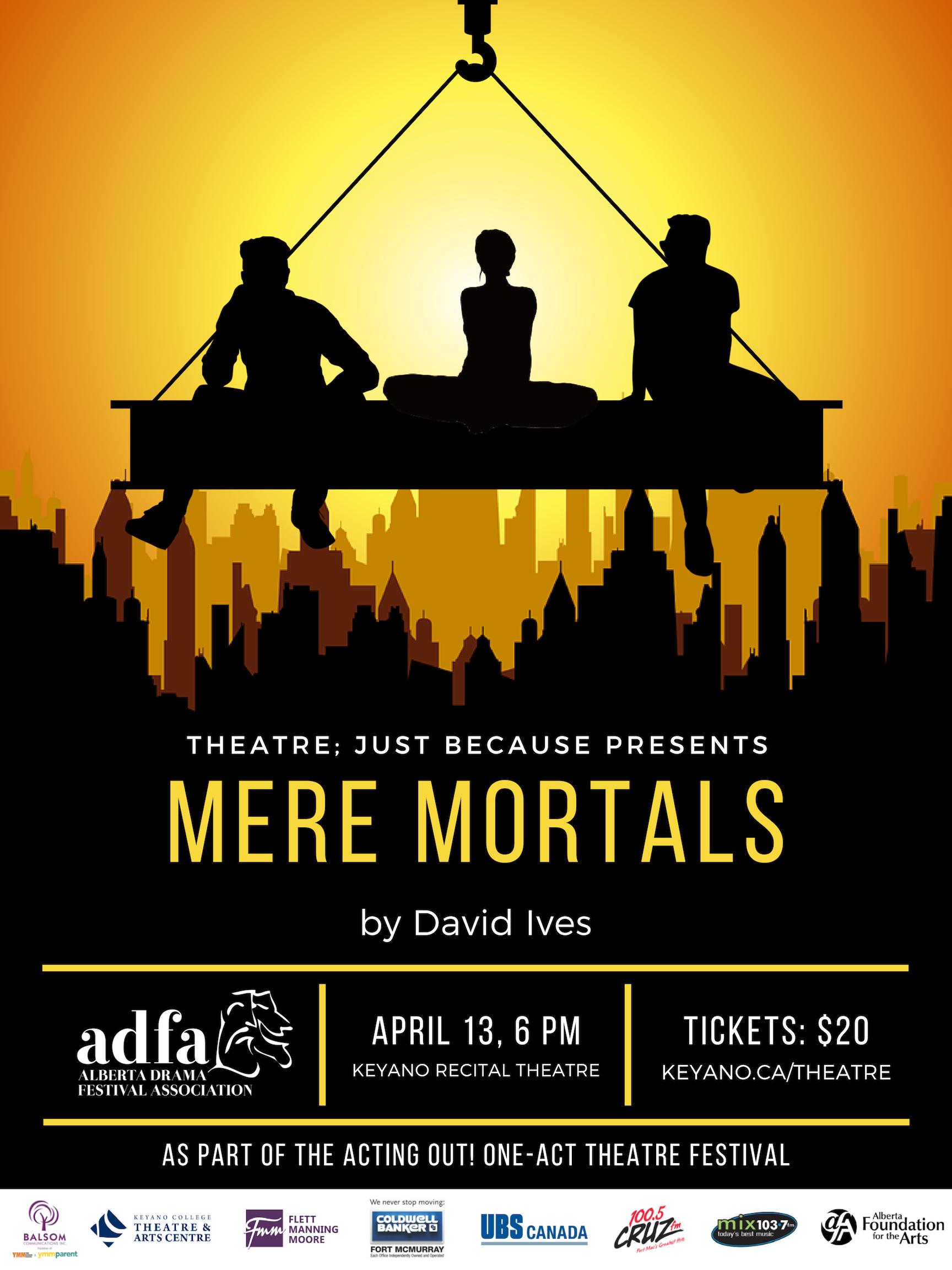 Mere Mortals David Ives poster