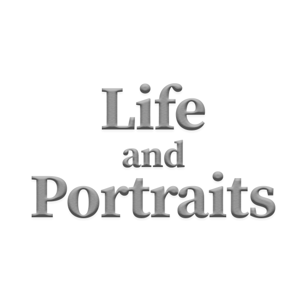 Life and Portraits Logo