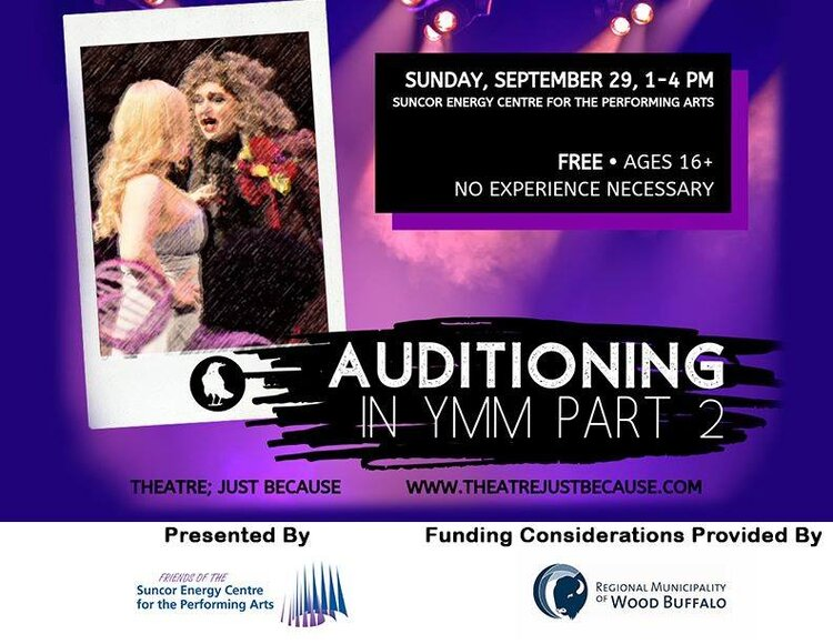 Auditioning in YMM Part 2 Alberta Culture Days.jpg