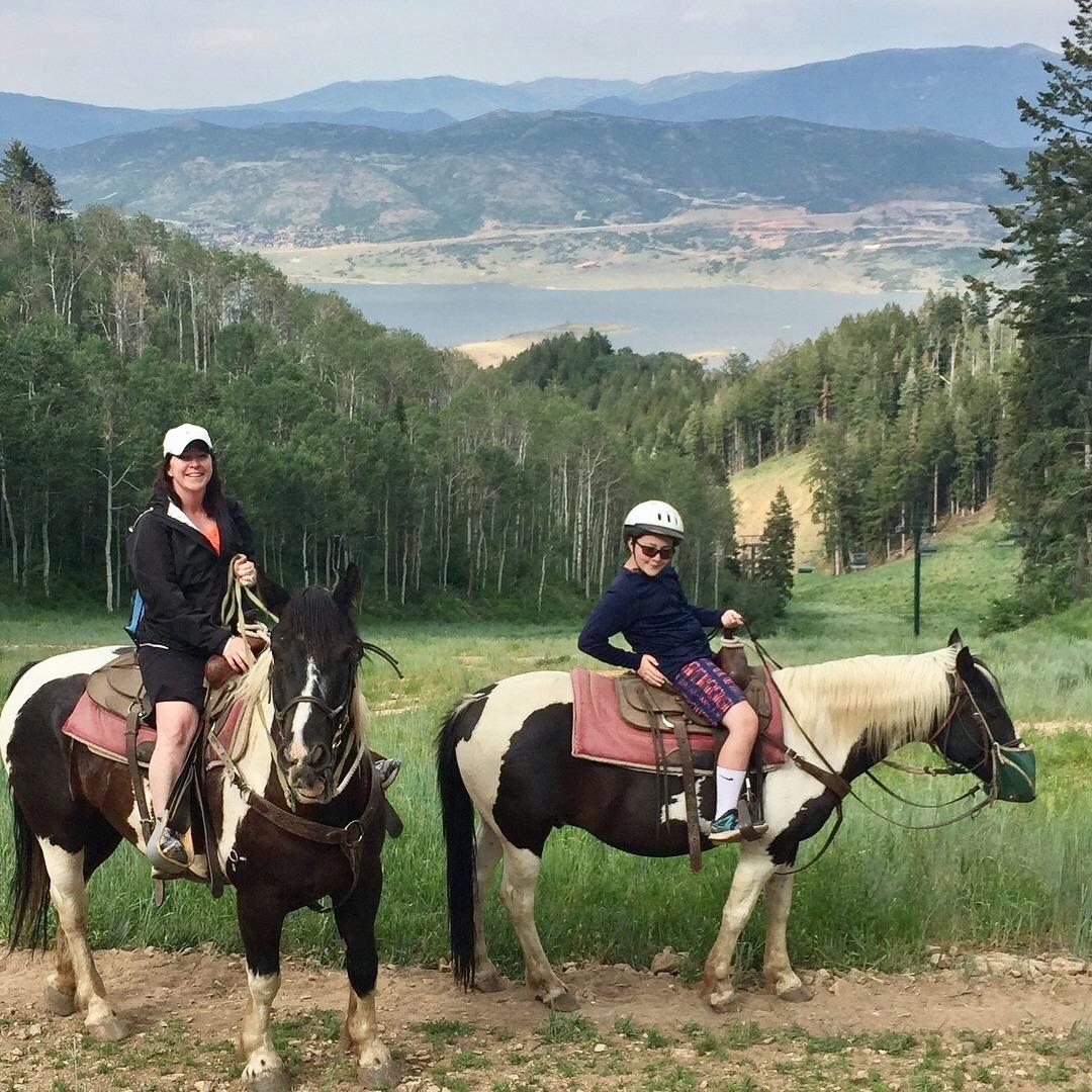 Horse Back Riding, Utah