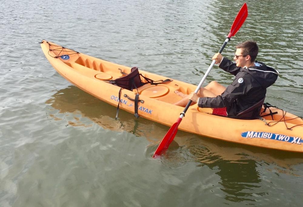 Kayaking, Manor Park Larchmont NY