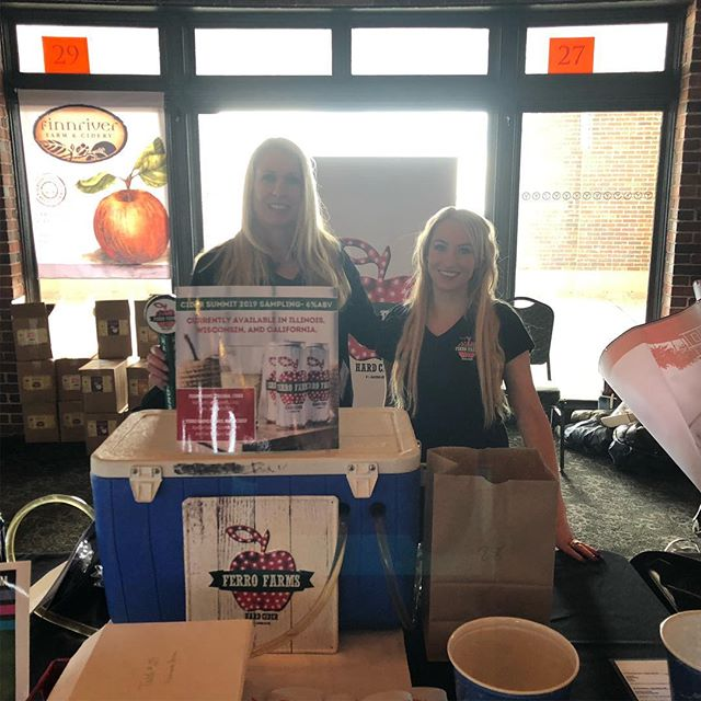 @navypierchicago #cidersummitchicago #ferrofarmshardcider 2019!