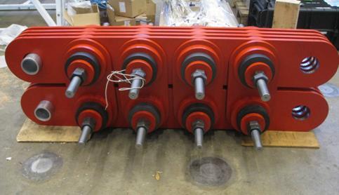 5000 kN panel damper