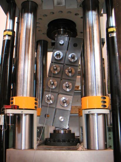 Testing 1000 kN Damper in Denmark